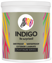 Indigo Dirtproof And Waterproof Exterior Laminate Paint