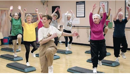 Senior citizen workouts
