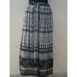 Cotton Bagru Print Skirt