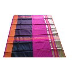 Multicolor Ethnic Silk Zari Border Saree
