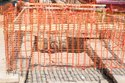 Metro Fencing Barricading Net FN 1513 Size 1 mtr X 50 mtr Color Orange Material PVC Weight 4 kg