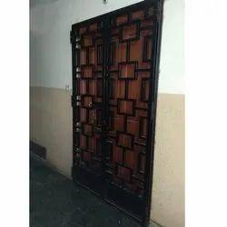Iron Entrance Door