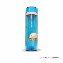Glass Water Bottle Double Wall- 300 ml-GL-88