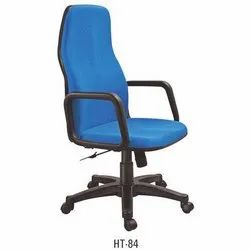 High Back Blue Executive Chair
