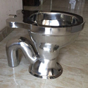 S Trap Open Front Stainless Steel Western Seat