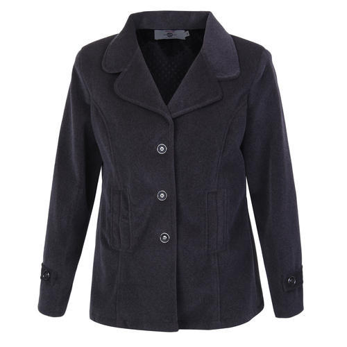 9f249781fd0e L BLack Ladies Long Coat Winter, Rs 2500 /piece, Philios India ...