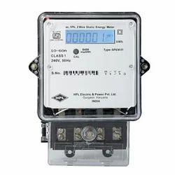 10-60 A Three Hpl Electronic Energy Meter, Model Name/Number: Spem01, 240v