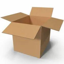 Brown Cardboard Duplex Plain Corrugated Box