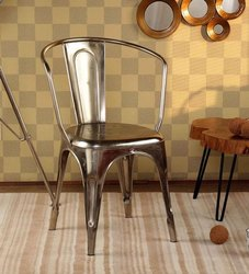 Silver Iron Chair, for Hotel