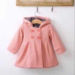 Kids Girls Winter Over Coats & Parkas, Age: 2 to 10 Years