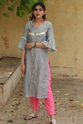 Chanderi Kurti With Cotton Inner
