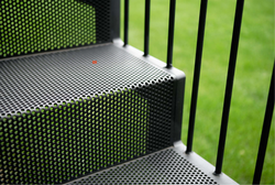 Perforated Stair Case