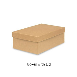 Duplex Paper Corrugated Box With Lid
