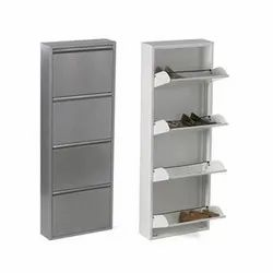 4 Shelves Metal Shoe Rack