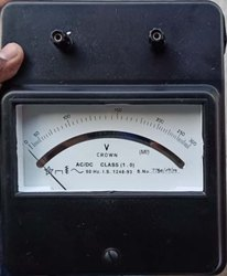 Moving Coil Portable DC Amp Meter