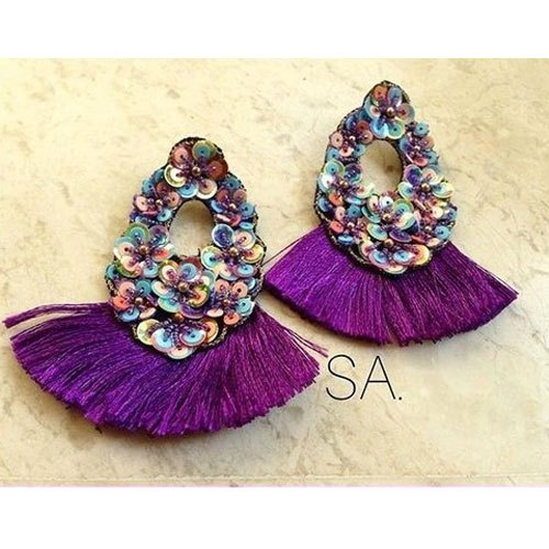 Multicolor Women Trendy Artificial Fashion Earring