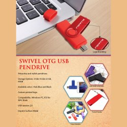 Swivel OTG USB Pendrive