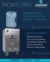 SS 304 Automatic Hand Sanitizer Machine 20 Liters (Ir Based)