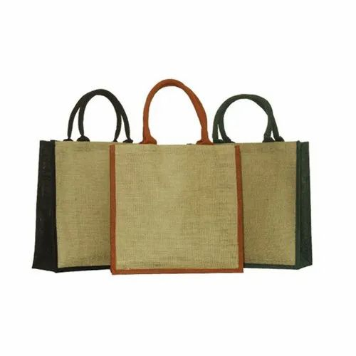Dyed Gusset Jute Bags