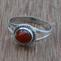 Red Onyx Gemstone Handmade Jewelry 925 Sterling Silver Ring