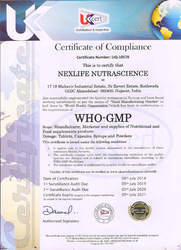 Our Certifications