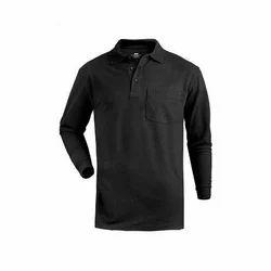 Black Full Sleeve T Shirt