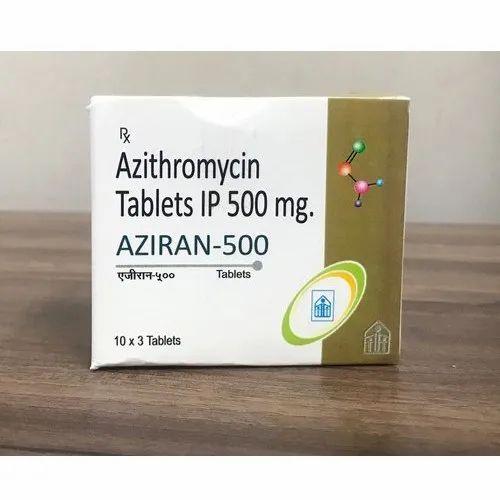 Azithromycin 500 mg Tablets IP