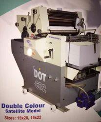 DOT Non Woven Multi Purpose Two Colour Printing Machine