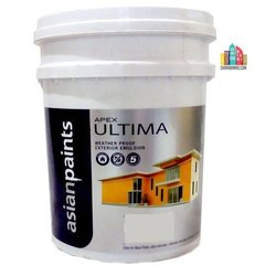 Asian Paints High Sheen Apex Ultima Exterior Emulsion Paint, Packaging Type: Bucket