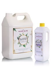 Nanolife - Herbal Ayurvedic All Purpose Disinfectant 100 Percent Silver Nanoparticles