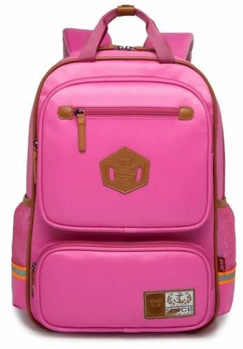 ec565c5607 Reelay Mee 19 L Light Weight Day Trip   School Backpack - 8157 (Pink ...