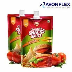 Plastic Laminated  Tomato Ketchup Sachets