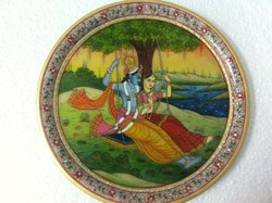 12 INCHES RADHA KRISHNA MINIATURE