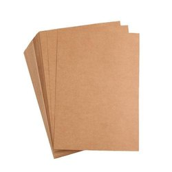 Plain 12 Inch Brown Kraft Paper, 80-200 Gsm
