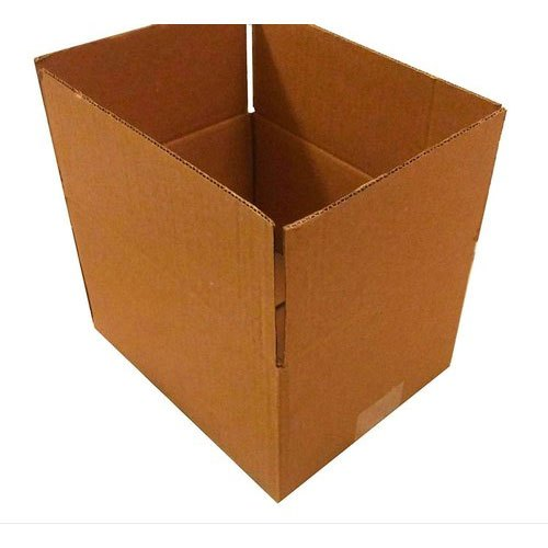 Kraft Paper Single Wall - 3 Ply 3 Ply Corrugated Box, for Packaging, Box Capacity: 6-10 Kg