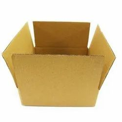 Brown Corrugated Packaging  8x8x2.5 Inch 3 Ply Box