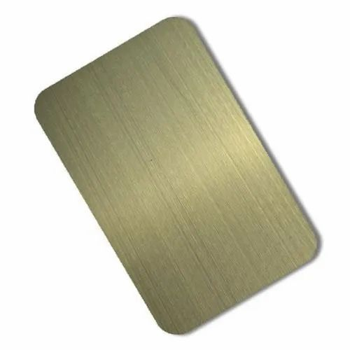 Titanium Coated Stainless Steel Sheets - Stainless Steel Blue Super