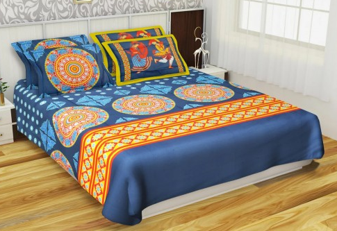 Kurl On Art Of India BS2511 Bed Sheet