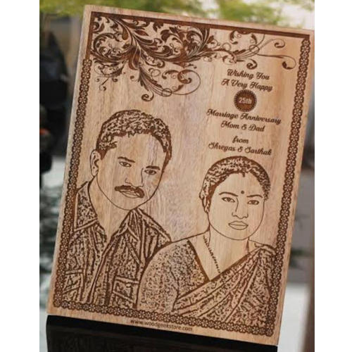 Personalized Wooden Anniversary Gift