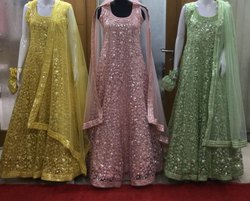 Georgette Party wear Bollywood Girls Anarkali Suits