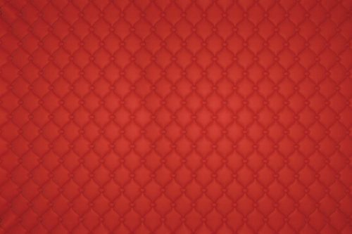 Red Horizontal Vertical Luxury Leather Pattern Wallpaper