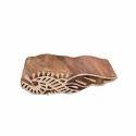 Flower Wooden Henna Printing