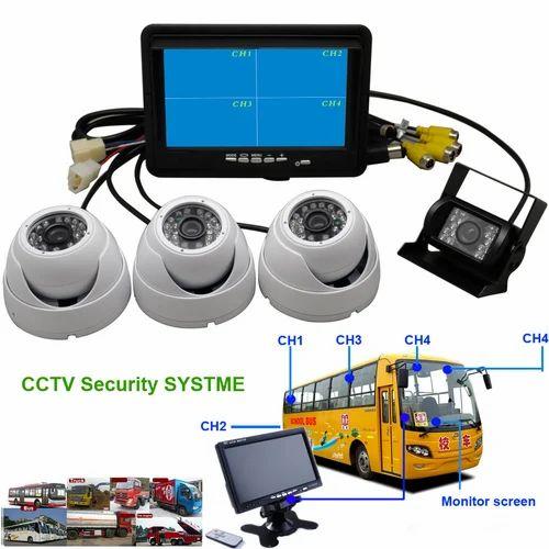 CCTV For School Bus / Mobile DVR
