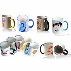 Rim & Handle Colour Mug