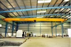 Single Girder Gantry Rail Crane, Capacity: 15-20 ton