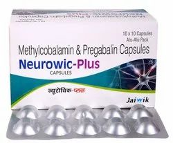 Methylcobalamin 750mcg & Pregabalin 75mg Cap