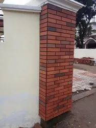 Rectangular Clay Tiles for Walls and Floor