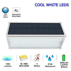 56 LED Solar LED Light with Motion Sensor