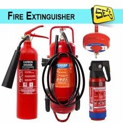 ABC Red Fire Extinguisher for Fire Fighting, Capacity: 5Kg