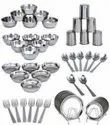 50 Pcs Stainless Steel Dinner Set
